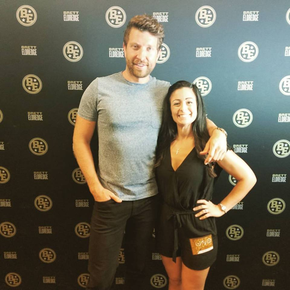 We invited luke bryan to the wedding nate hanson and alexis manias brett eldredge meet and greet we brought a special wedding invite to sign and we were able to invite him and his wife to the wedding kristyandbryce Gallery